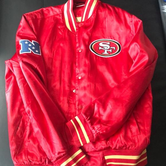 wholesale dealer f4dbf ec823 Nike Varsity jacket 49ers